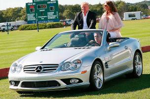 Trump fuhr gern Mercedes