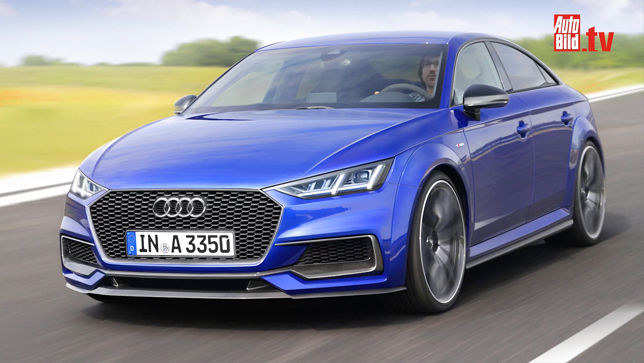 Video Audi A3 Sportcoupe 2019 Autobild De