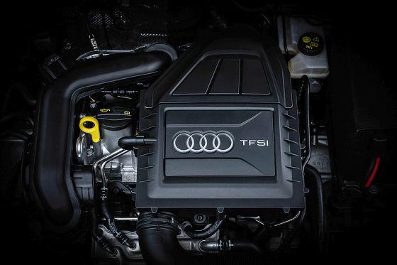 Der Audi A3-zylinder