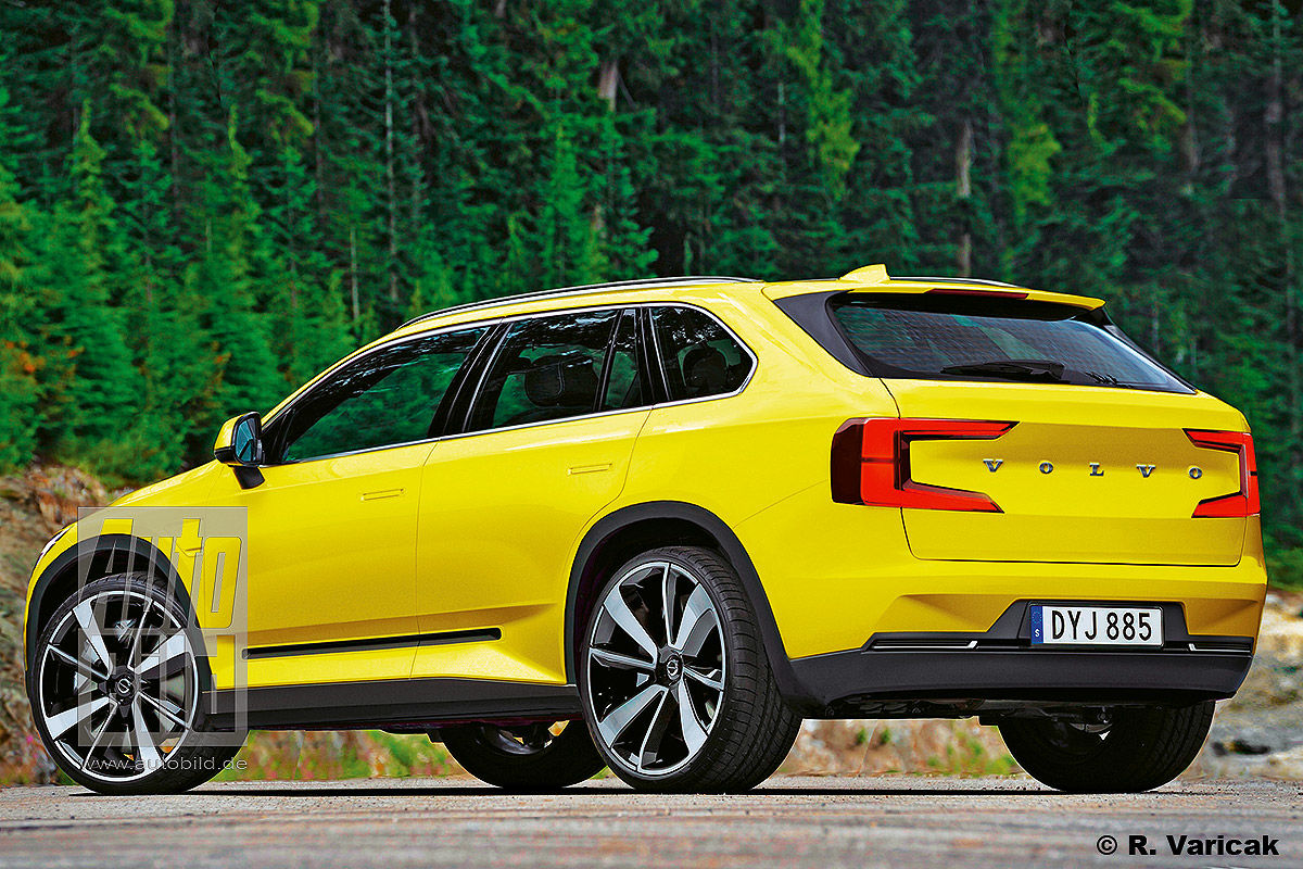 2021 Volvo V90 New Concept