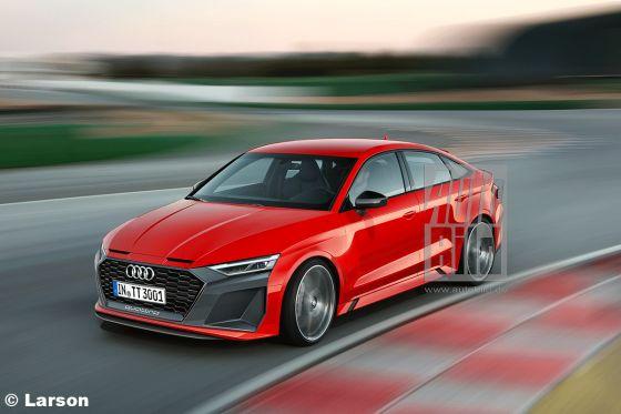 Audi TT-Nachfolger Illustration