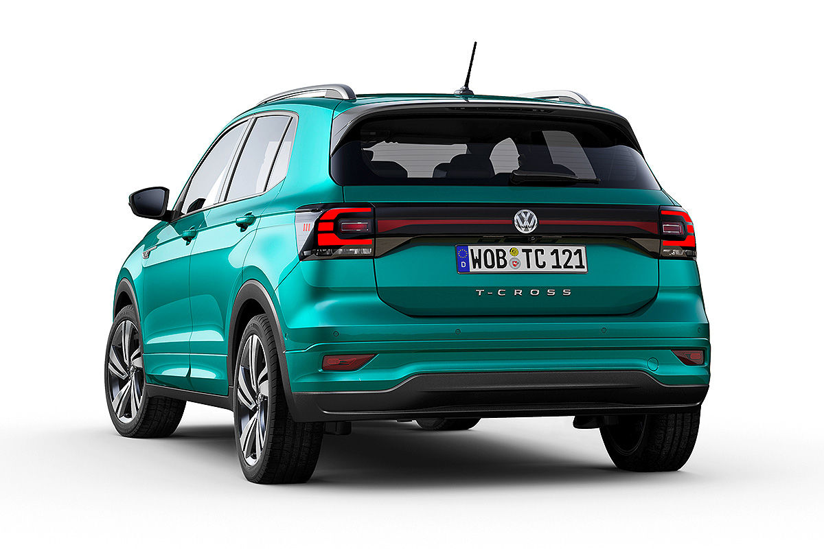 VW Polo-SUV (2018): Erlkönigbilder