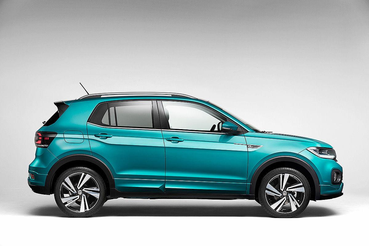 VW Polo-SUV/T-Cross (2018): Test, Infos und Bilder