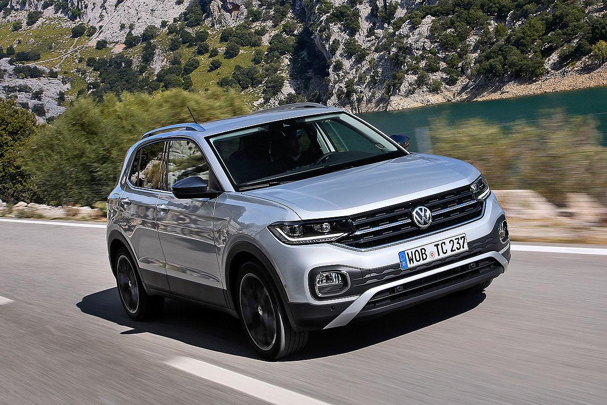 VW T-Cross (2019): Bildergalerie