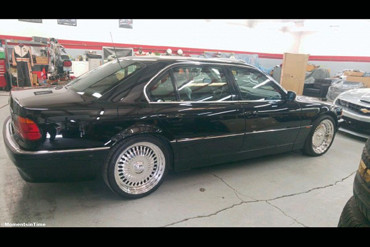 BMW 750 L in dem Tupac Shakur getötet wurde