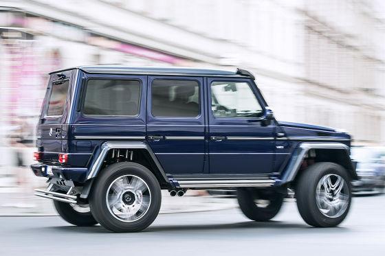 Ganz dickes Ding: Mercedes G 500 4x4 hoch zwei - autobild.de