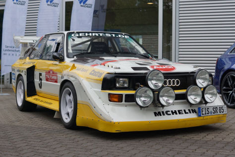 audi sport quattro s1 im test 1985 mitfahrt im gruppe b. Black Bedroom Furniture Sets. Home Design Ideas
