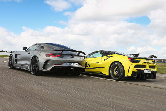 Mansory 4XX Siracusa Mansory AMG GT S