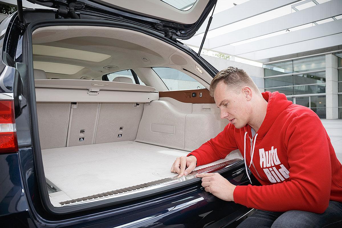 Sitzprobe im neuen Edel-Kombi, E-Klasse T-Modell S213