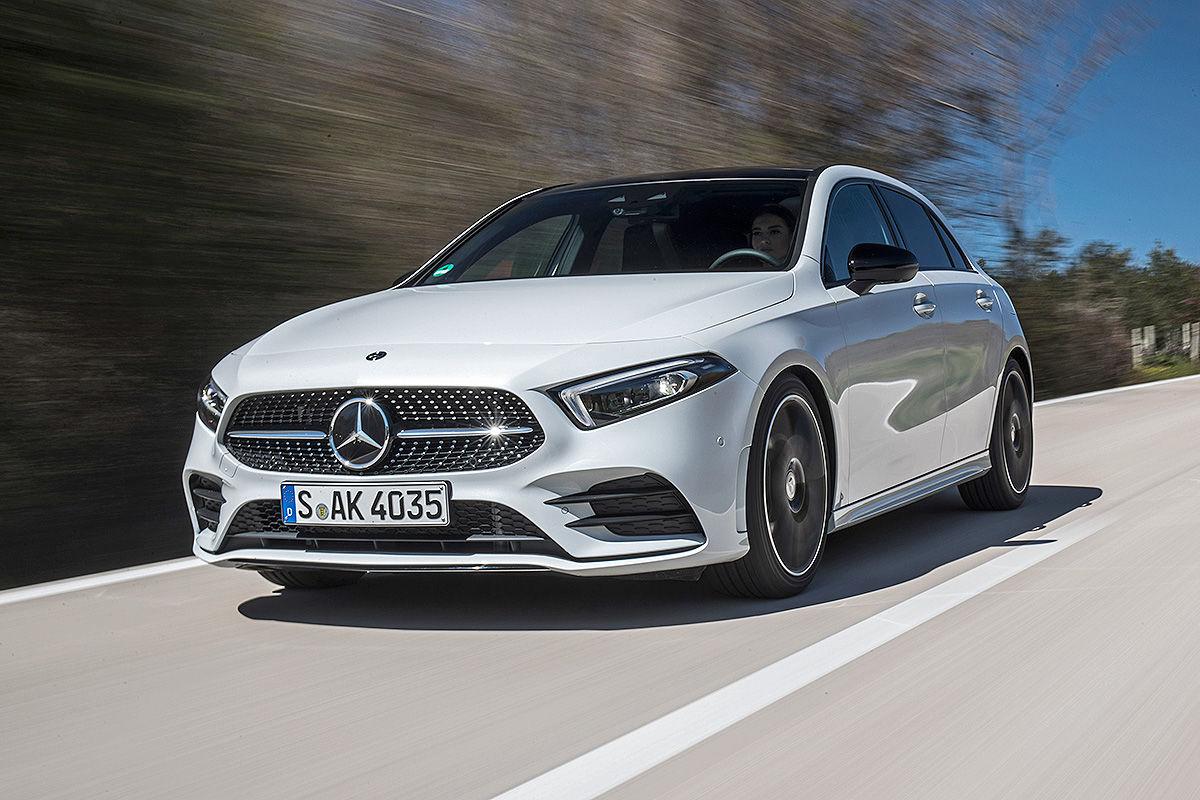 Mercedes A-Klasse W177 (2018): Erste Fahrt