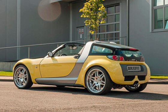 Der Smart Roadster, den es nie gab