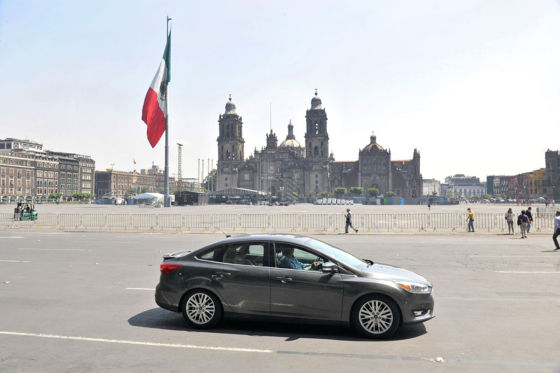 Ford focus in Mexiko Stadt