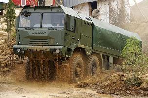 Diese Russen-Trucks kann nichts stoppen