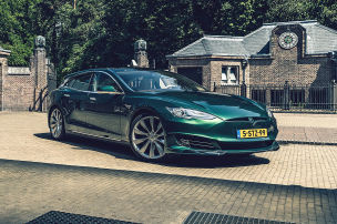 Umwerfend: Tesla Model SB