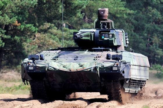 Neuer Schützenpanzer besser als Puma?