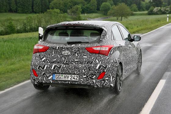 Erste Ausfahrt in Hyundais GTI