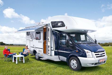 hymer camp 622 cl wohnmobil test. Black Bedroom Furniture Sets. Home Design Ideas