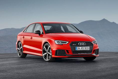 Audi Rs 3 Limousine 2017 Vorstellung Motor Ps Marktstart