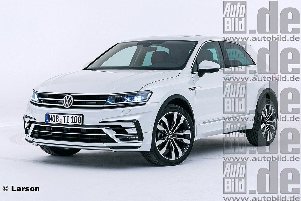 VW Tiguan Coupé Illustration