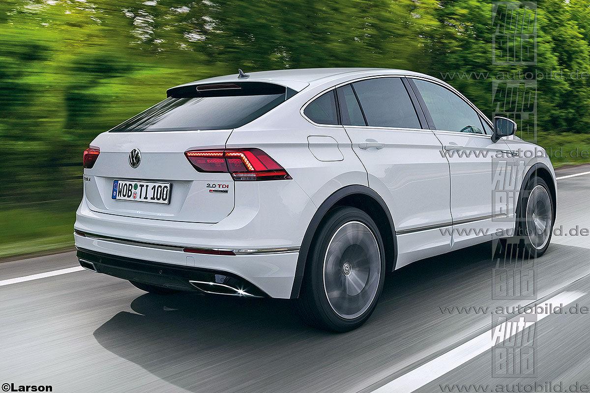 VW Tiguan Coupé Illustration