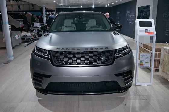 Vier gewinnt bei Range Rover