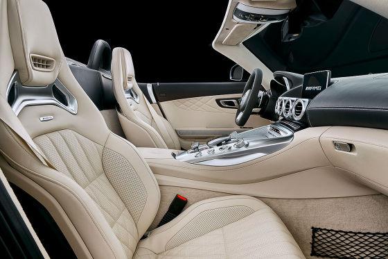 Die Silhouette des AMG GT C