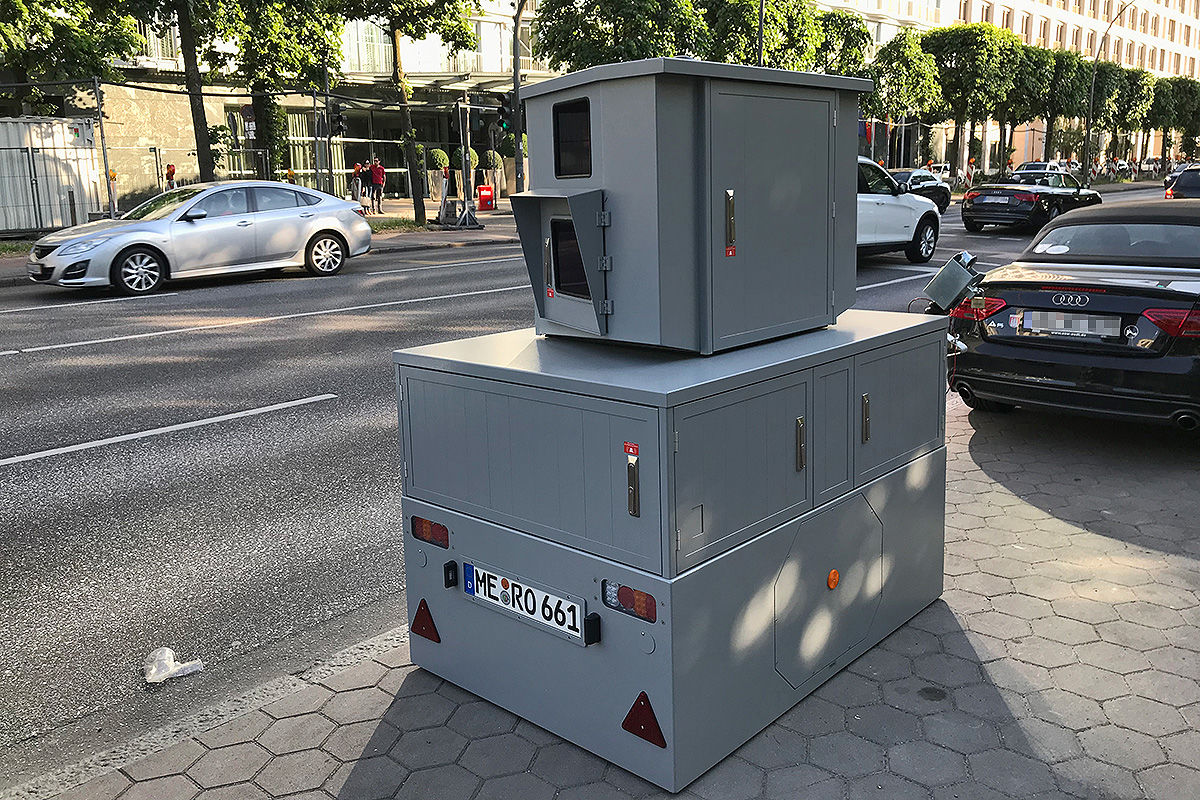 Radar, Laser, Lichtschranke: So blitzt die Polizei
