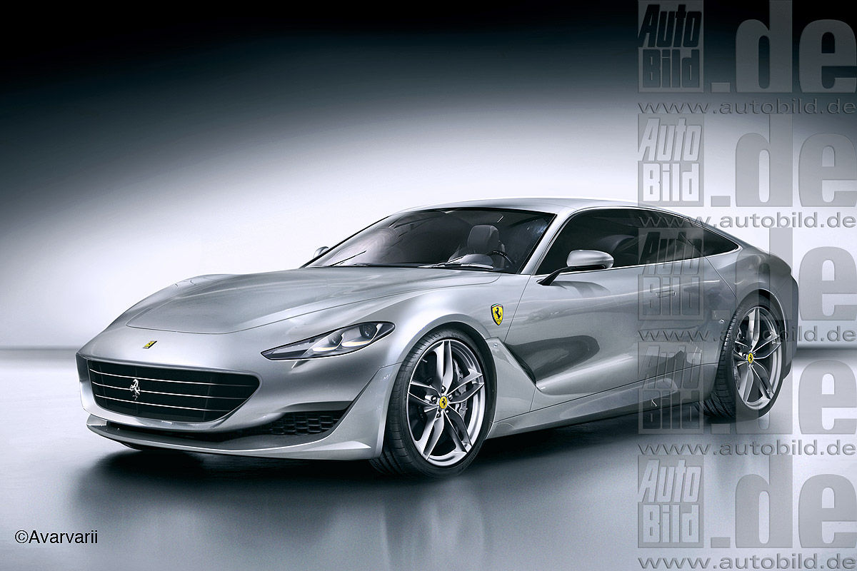Ferrari GTC4Lusso Illustration