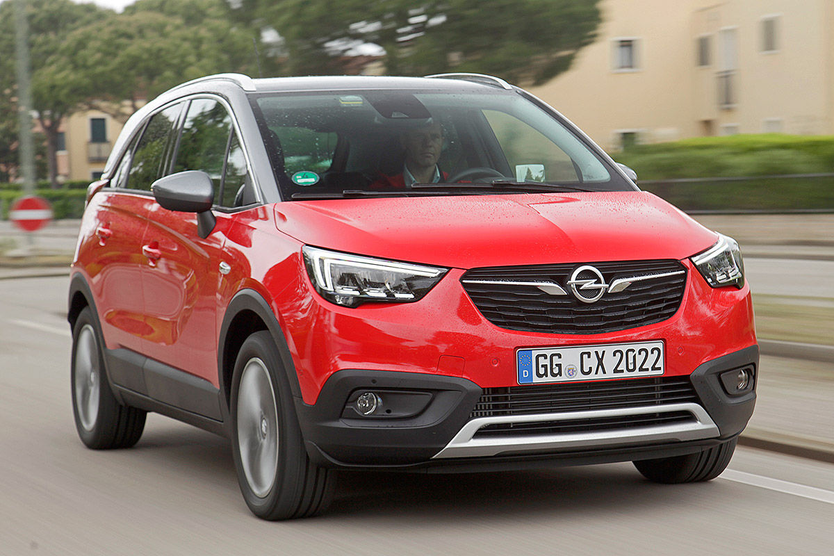 opel crossland x 2017 infos test und bilder bilder. Black Bedroom Furniture Sets. Home Design Ideas