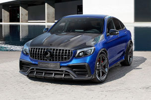 Carbon-Party: GLC 63 S Coupé