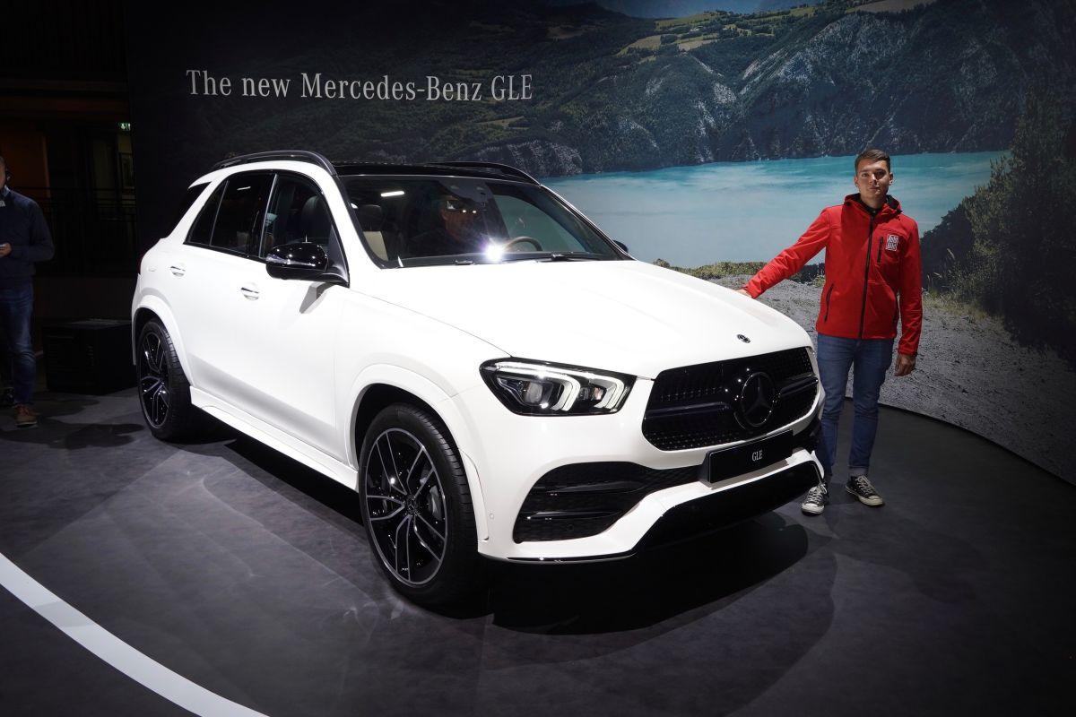 Mercedes GLE (2018): Neue Infos und Bilder