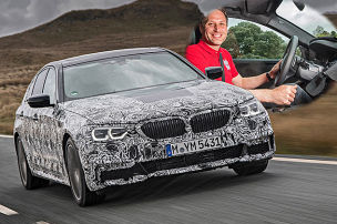 So fährt der neue BMW 5er