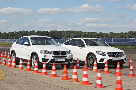 Jetta Gli 2016 >> SUV-Coupés: BMW X4 trifft auf Mercedes GLC Coupé - autobild.de
