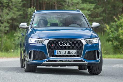 Mehr Ab Werk Audi Rs Q3 Performance Im Test Autobildde