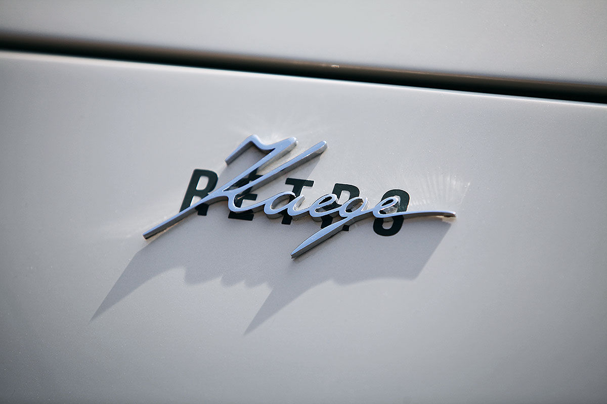 Porsche 911 als Kaege Retro