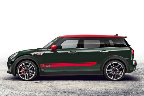 mini jcw john cooper works clubman 2016 vorstellung. Black Bedroom Furniture Sets. Home Design Ideas