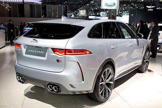 Das Power-SUV von Jaguar