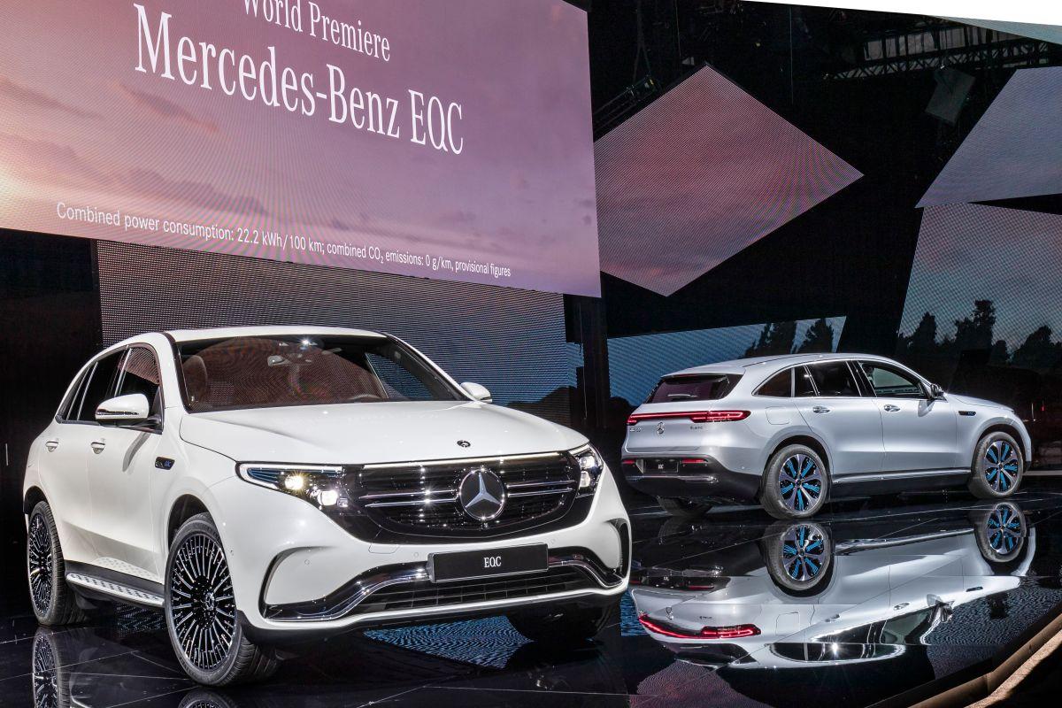 Mercedes EQC (2019): Bilder