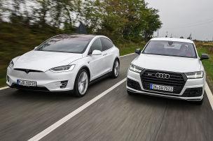 Tesla fordert Audi heraus