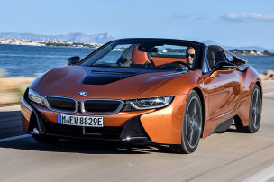 So f�hrt der i8 Roadster