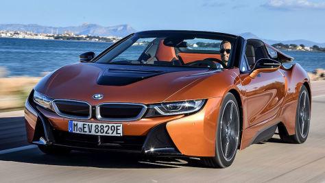 BMW i8 Roadster (2018): Test