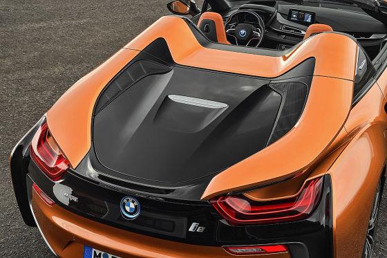 Der BMW i8 für gutes Wetter
