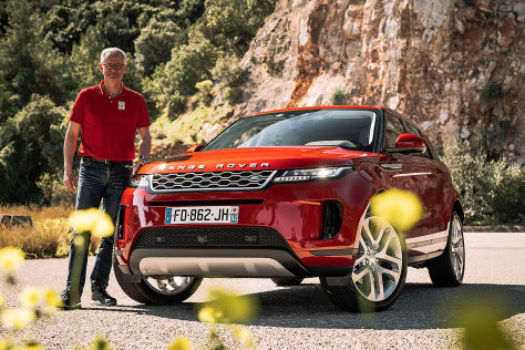 range rover evoque ii 2019 test hybrid motoren preis. Black Bedroom Furniture Sets. Home Design Ideas