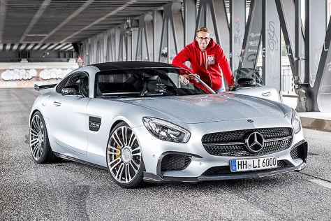 mercedes-amg gt s luethen motorsport (2016): fahrbericht, preis