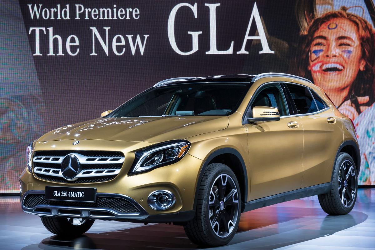 Mercedes GLA Facelift (2017): Vorstellung