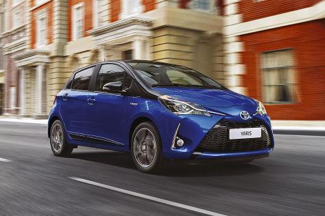 Toyota Yaris Facelift 2017 Vorstellung Und Fahrbericht