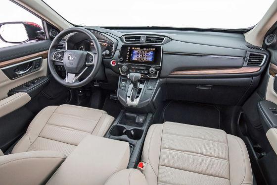 Mehr Platz im neuen CR-V