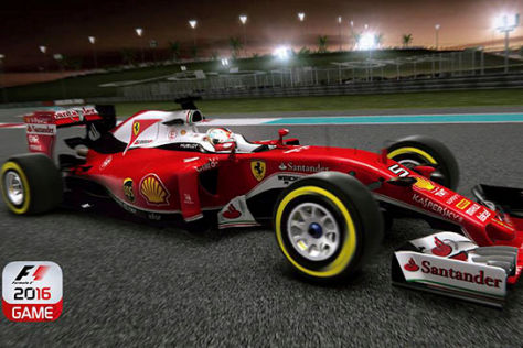 F1-Spiel