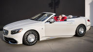 Mercedes-Maybach S 650 Cabrio: Sitzprobe