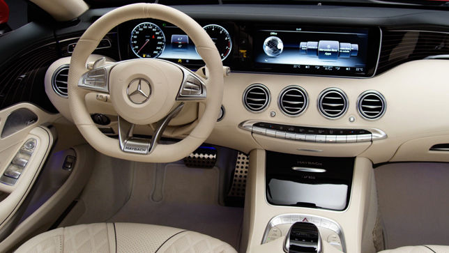 Video: Mercedes-Maybach Cabrio Interieur (2016) - autobild.de